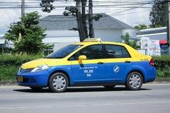 City taxi Meter chiangmai, Nissan Tiida Stock Image
