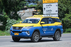 City taxi Meter chiangmai, Toyota Fortuner Stock Photography