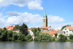 City Telc Royalty Free Stock Photography