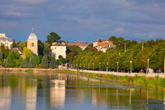 City of Ternopil. General view city of Ternopil. Ukraine Stock Image