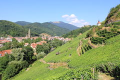 The city of Thann, Alsace Stock Photos