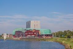 City theater at the IJsselmeer lake in Hoorn Stock Images