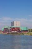 City theater at the IJsselmeer lake in Hoorn Stock Photos