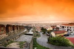 City of Thessaloniki Royalty Free Stock Photo