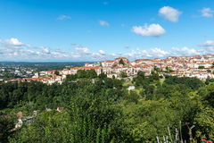 City of Thiers, department of Puy-de-Dome (France) Royalty Free Stock Photography