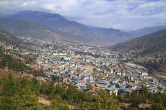 The city of Thimphu, Bhutan Stock Photography