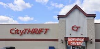 City Thrift, Memphis, TN Stock Photography