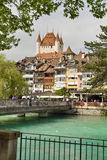 The city of Thun, Switzerland Royalty Free Stock Images