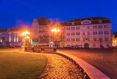 City of Timisoara in Romania. Timisoara is the third largest city in Romania, often nicknamed Little Vienna Royalty Free Stock Photo
