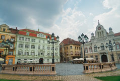 City of Timisoara in Romania. Timisoara is the third largest city in Romania, often nicknamed Little Vienna Royalty Free Stock Image