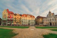 City of Timisoara in Romania. Timisoara is the third largest city in Romania, often nicknamed Little Vienna Stock Photo