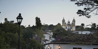 City of Tiradentes Stock Photography