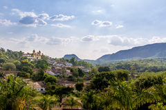 City of Tiradentes - Minas Gerais, Brazil. City of Tiradentes in Minas Gerais, Brazil stock photos