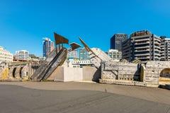 City to Sea Bridge, Wellington, New Zealand Royalty Free Stock Images