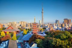 City of Tokyo in Japan. Stock Images