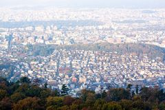 City top view Royalty Free Stock Photos