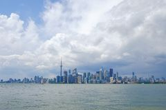 The city of Toronto in Canada Stock Image