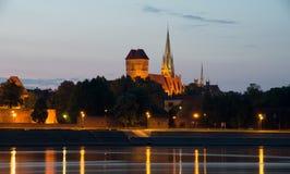 City Toruń. royalty free stock images