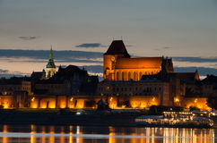 City Toruń. Royalty Free Stock Photography