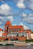 City of Torun Old Town Skyline in Poland Royalty Free Stock Photo