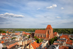 City of Torun in Poland Stock Images