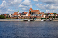 City of Torun Skyline in Poland Stock Images