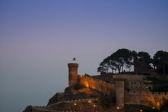 City of Tossa de Mar Stock Photos
