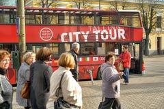 City Tour Bus Stock Photography