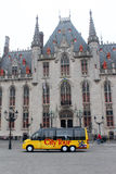 City Tour Bus -  Brugge, Belgium Royalty Free Stock Photography