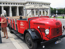 City tour car in Vienna Royalty Free Stock Photos
