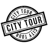City Tour rubber stamp. Grunge design with dust scratches. Effects can be easily removed for a clean, crisp look. Color is easily changed Royalty Free Stock Photos