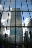 City tower (Canary Wharf) Stock Photography