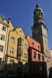 City Tower in Innsbruck Stock Photos