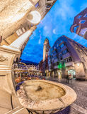 The City Tower in Innsbruck, Austria. Stock Images