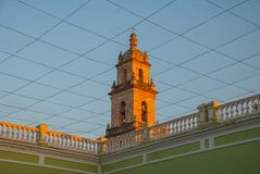 City Town hall of Yucatan in Mexico. Merida. Royalty Free Stock Photo