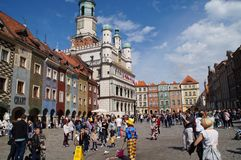 City, Town, Town Square, Landmark stock photo