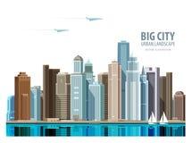 City, town vector logo design template Stock Photo