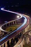 City traffic. With high way in night in Taiwan, Asia Stock Images