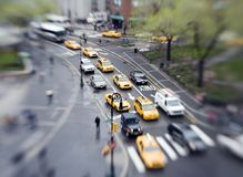 City traffic Stock Image