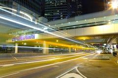 City traffic blur Stock Photo
