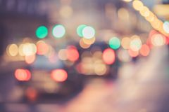 City traffic, blurred: Light points traffic jam, transport concept. City traffic in the night, blurred with light points, lights, evening, car, jam, highway royalty free stock photography