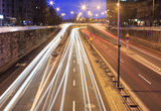 City traffic Stock Image