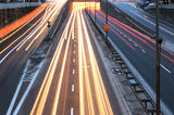 City traffic Royalty Free Stock Images