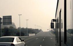 City traffic highway Royalty Free Stock Photo