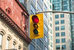 City Traffic Light Royalty Free Stock Image