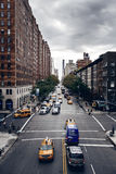 City traffic of Manhattan, New York Royalty Free Stock Images
