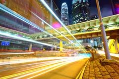 City traffic at night Stock Image