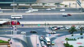 City traffic stock video