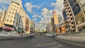 City Traffic Time Lapse Tokyo HDR