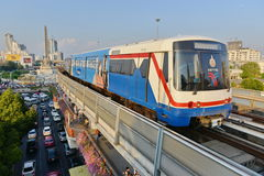 City Train Royalty Free Stock Photo